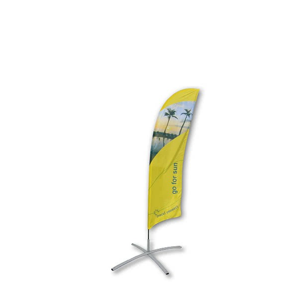 Beachflag-Standard-2500-Kreuzfuss