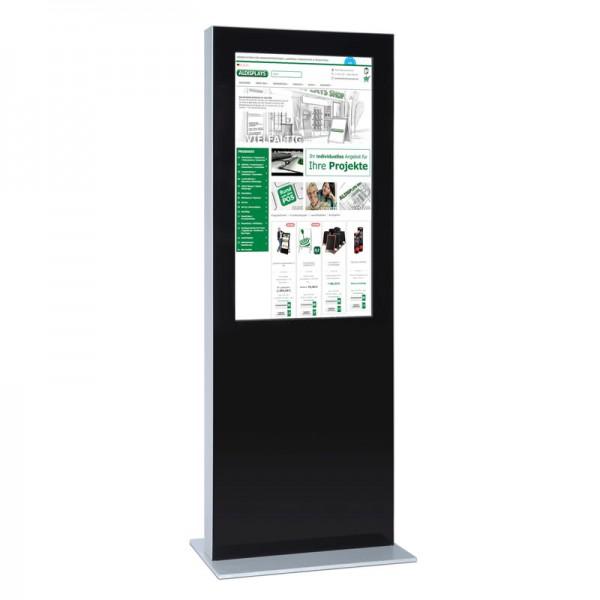 Digitale Infostele einseitig 50 zoll schwarz 4K 2.jpg