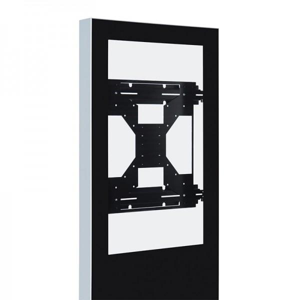 Digitale Infostele einseitig 50 zoll schwarz 4K Innenansicht.jpg