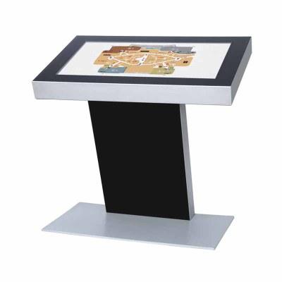 Digitales Kiosk - Querformat einseitiger 32 Zoll-Bildschirm - schwarz 32 Zoll - Digitales Kiosk