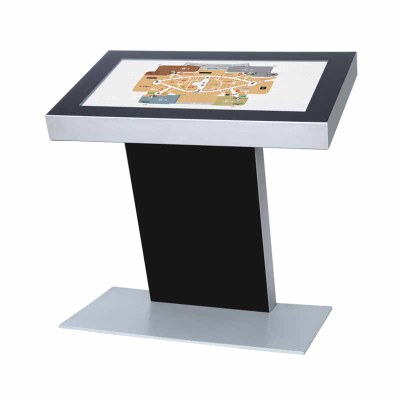Digitales Kiosk - Querformat einseitiger 43 Zoll-Bildschirm - schwarz 43 Zoll - Digitales Kiosk