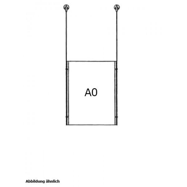 da-d-1xa0 - drahtseilsystem 1x din a0 hochformat decke