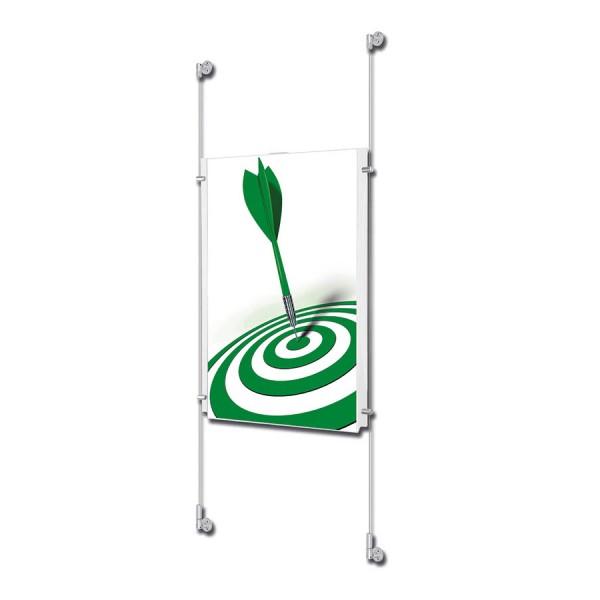 postersysteme-drahtseilsystem-acryl din a1-hochformat-wand bersicht 1