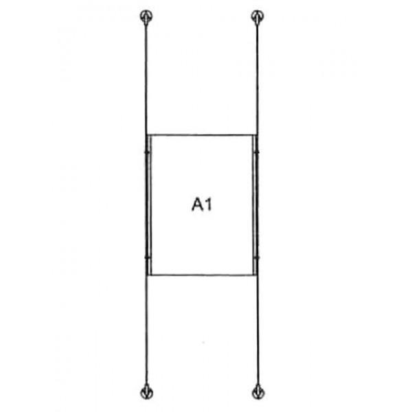 da-w-1xa1 - drahtseilsystem 1x din a1 hochformat