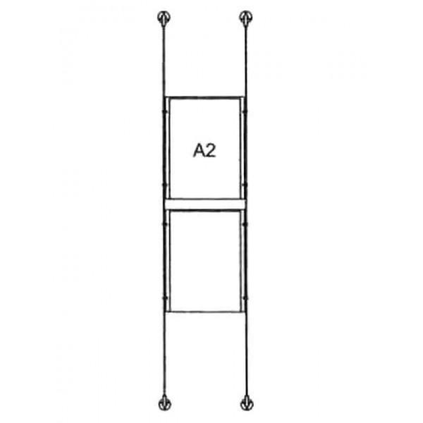 da-d-2xa2 - drahtseilsystem 2x din a2 hochformat