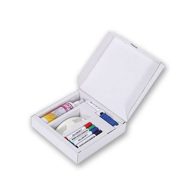 Whiteboard & Flip-Chart - Starterset Bestehend aus: None - whiteboard-zubeh r-starterkit 1