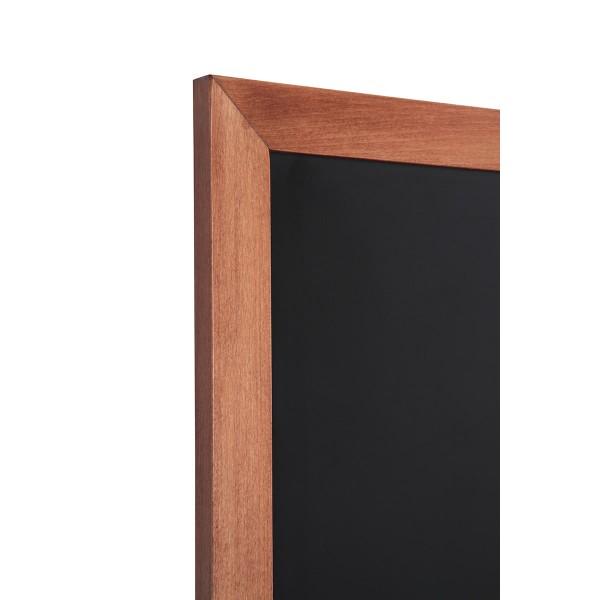Holz-Wand-Kreidetafel-eckiges-Profil-hellbraun-Detail