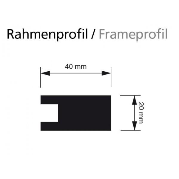 Holz-Wand-Kreidetafel-eckiges-Profil 2