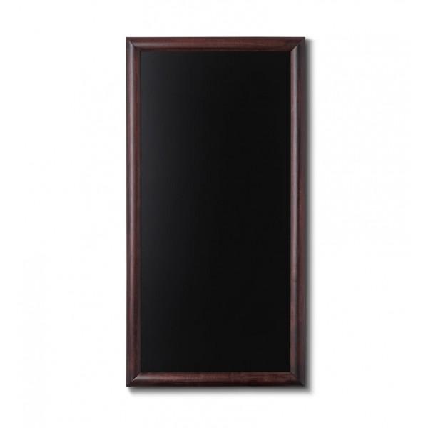 Holz-Wand-Kreidetafel-rundes-Profil-560x1000-dunkelbraun