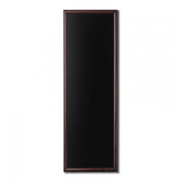 Holz-Wand-Kreidetafel-rundes-Profil-560x1500-dunkelbraun
