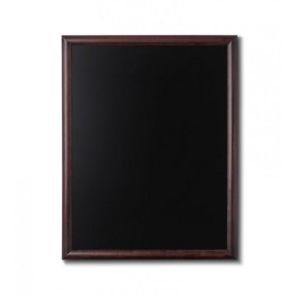 Holz-Wand-Kreidetafel-rundes-Profil-700x900-dunkelbraun