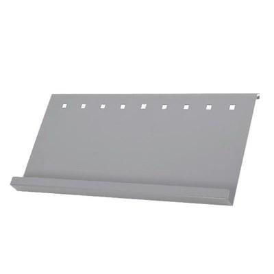 Prospektablage Infoständer MONO DIN A1 Prospektablage, einseitig Material: Aluminiumblech - Infost nder-Mono-Detail-Ablage 1