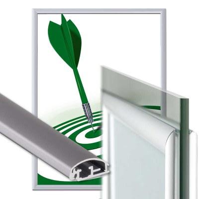 Klapprahmen Fenster Einlegeformat: DIN A1 (594x841 mm) Profil: 25mm Gehrung - Fenster Klapprahmen-25er-Profil-Gehrung