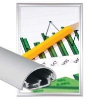 Klapprahmen Safety Einlegeformat: DIN A4 (210x297 mm) Profil: 30mm Gehrung - Klapprahmen-safety-30-mm-Profil