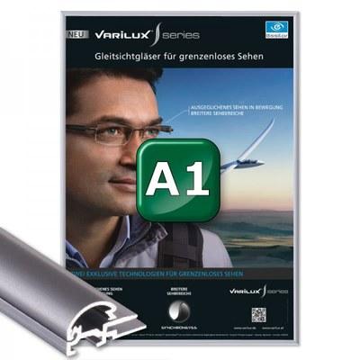 Klapprahmen Standard Einlegeformat: DIN A1 (594x841 mm) DIN A1 (594x841 mm) - Klapprahmen A1 15mm Gehrung