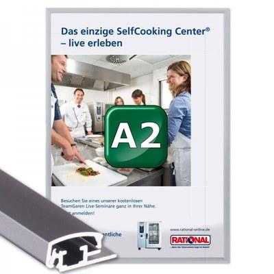 Klapprahmen Standard Einlegeformat: DIN A2 (420x594 mm) DIN A2 (420x594 mm) - Klapprahmen A2 20mm Gehrung
