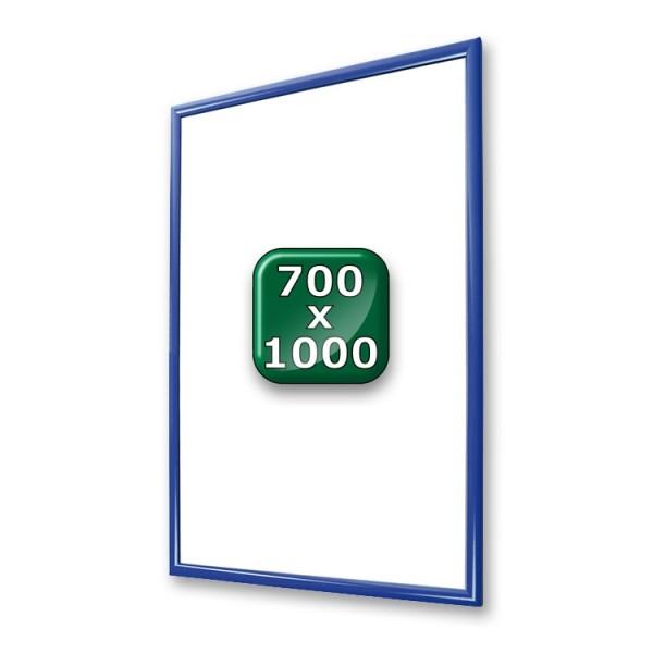 klapprahmen-25er-profil-gehrung-blau-700x1000