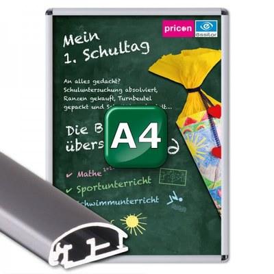 Klapprahmen Standard Einlegeformat: DIN A4 (210x297 mm) DIN A4 (210x297 mm) - Klapprahmen A4 25mm Rondo