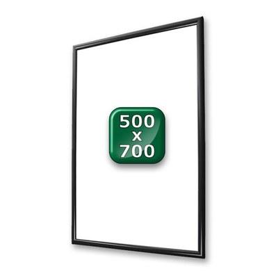 Klapprahmen Standard Einlegeformat: 500x700 mm 500x700 mm - klapprahmen-25er-profil-gehrung-swz-500x700