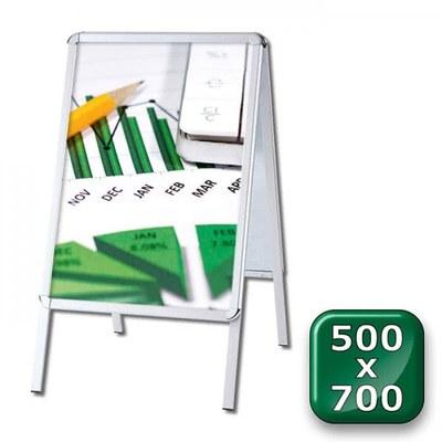 Kundenstopper OUTDOOR Einlegeformat: 500x700 mm 500x700 mm - Kundenstopper-Outdoor-500x700-Rondo