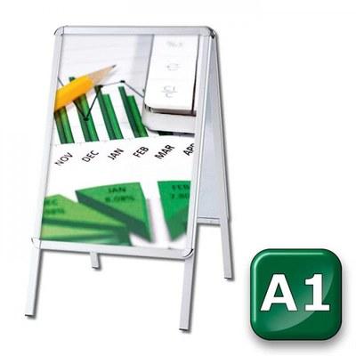 Kundenstopper OUTDOOR Einlegeformat: DIN A1 (594x841 mm) DIN A1 (594x841 mm) - kundenstopper-outdoor-din-a1-rondo