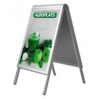 Kundenstopper PREMIUM Einlegeformat: DIN A0 (841x1.189 mm) ohne Info-Topper - Kundenstopper-Premium-DIN-A1 Ohne