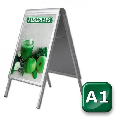 Kundenstopper PREMIUM Einlegeformat: DIN A1 (594x841 mm) DIN A1 (594x841 mm) - Kundenstopper-Premium-DIN-A1