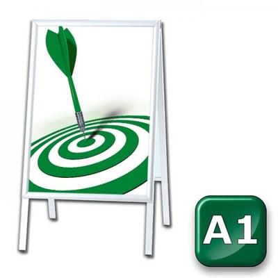 Kundenstopper WASSERDICHT Einlegeformat: DIN A1 (594x841 mm) DIN A1 (594x841 mm) - Kundenstopper-wasserdicht