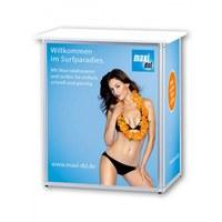 Druckset ALLEGRO®-MINI-Theke Digitaldrucke für Front & Seiten 1x Thekenfront 700 x 866 mm - Mini-Theke 1