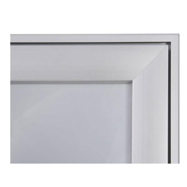 Schaukasten FLAT BT23 Indoor Outdoor Detail Eckverbindung 3