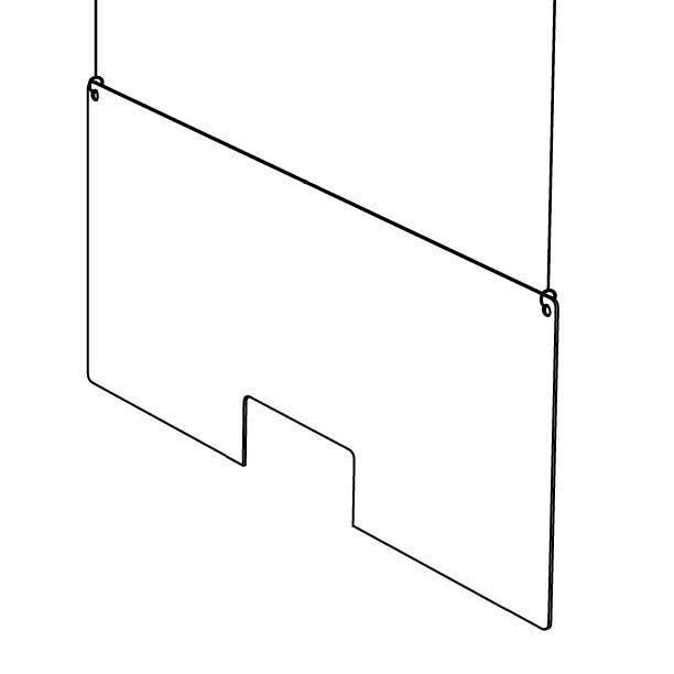 Spuckschutz & Hustenschutz Deckenhänger Größe M 2 Seile mitte.jpg