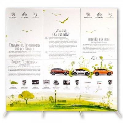 Stellwand aus Pappe in verschiedenen Formaten und Ausführungen None - stellwand pappe front