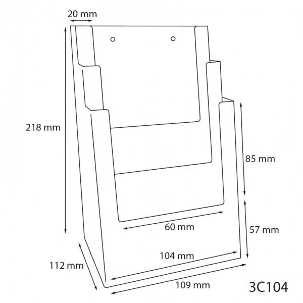 Dispenser-Lang-DIN-3x-Hintereinander-3C104-Zeichnung