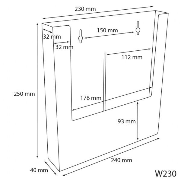 Dispenser-Lang-DIN-A4-PRO205-Zeichnung