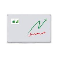 Whiteboard PREMIUM zur Wandmontage Außenformat: 1.500x1.000x15 mm (BxHxT) Sichtformat: 1.466x966 mm (BxH) - Whiteboard-ECO_1500x1000_Übersicht