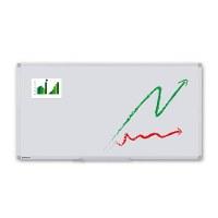 Whiteboard PREMIUM zur Wandmontage Außenformat: 1.800x900x15 mm (BxHxT) Sichtformat: 1.766x866 mm (BxH) - Whiteboard-ECO_1800x900_Übersicht