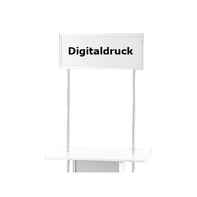 Druck Topschild ALLEGRO®-Sechsecktheke Digitaldruck auf Topschild für Sechseck- None - Zubeh r-Topschild-Digitaldruck 6